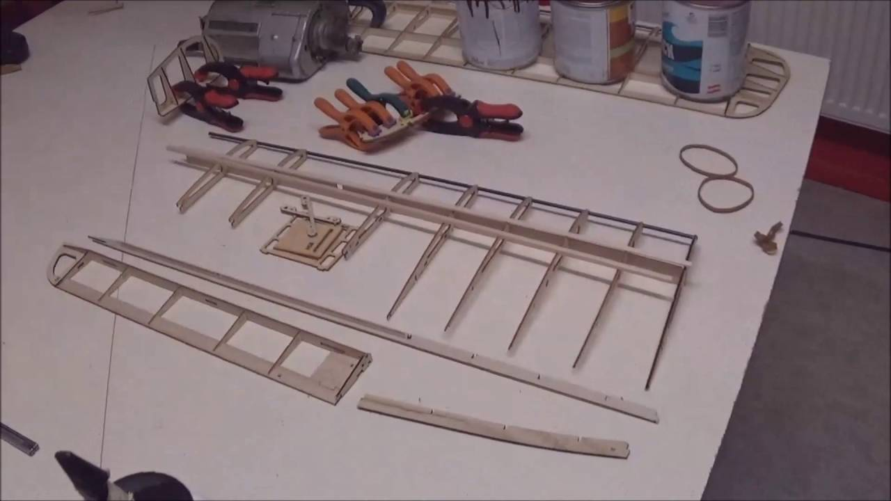 Rc Hobby King Tiger Moth Scratch Build Video Part One M 228 Rz