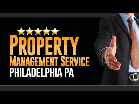 Property Management Service Philadelphia PA  - (215) 692-6636