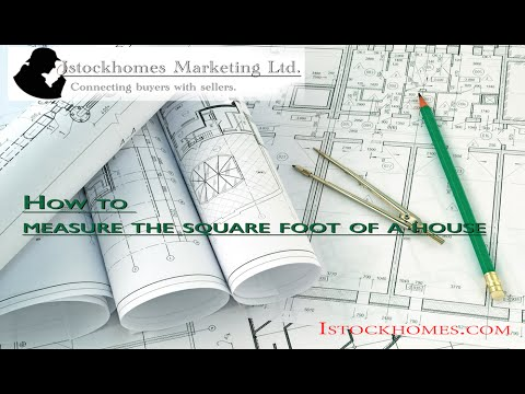 How To Measure The Square Foot Of A House By Istockhomes Youtube
