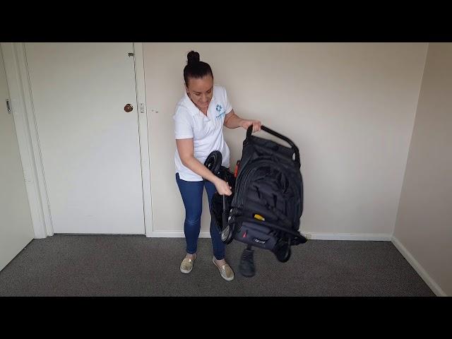 Folding The Baby Jogger Mini GT