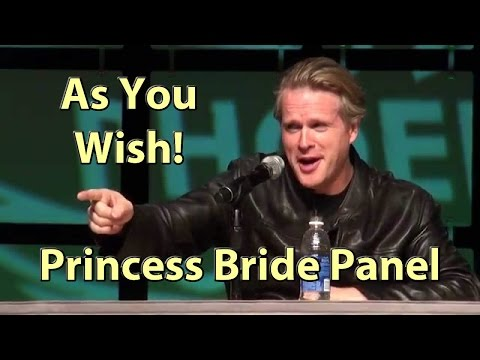 Princess Bride Cary Elwes gives amazing Hugs & stories HD at Comicon 2014 Phoenix Comicon Panel