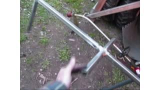 Homemade Bird Feeder Stand ( Welding Project )