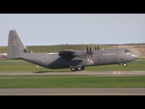 """Copenhagen Airport - Fly Away! ( C-17, C-130, """"Veterans"""" & More)"""