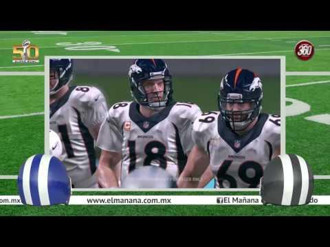 Super Bowl 50 Carolina Panthers vs Denver Broncos | ANALISIS PART2