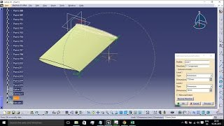 CATIA V5: Wing Modelling using Airfoil Co-Ordinates from MS EXCEL - Macros