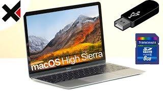 macOS High Sierra USB-Stick für Installation erstellen | iDomiX