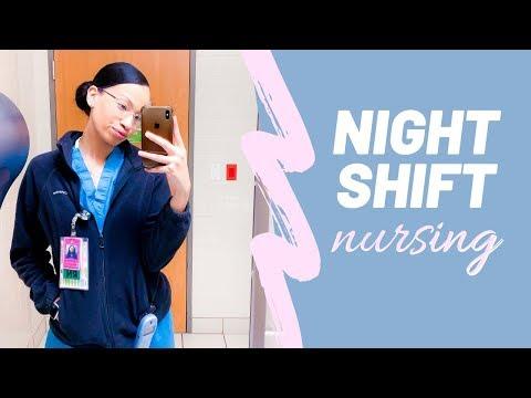 My FIRST NIGHT SHIFT As A New Nurse | Whew Y'all....LOL