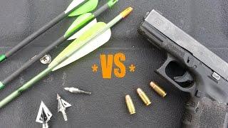 Modern Combat Archery : Arrows vs Bullets PRESSURE TEST!