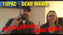 Dear Mama - Tupac (REACTION! by metalheads)