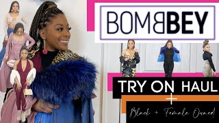 BOMB BEY TRY ON HAUL + BADDIE STYLING TIPS | Black + Female Owned | Cydney Cooper TV