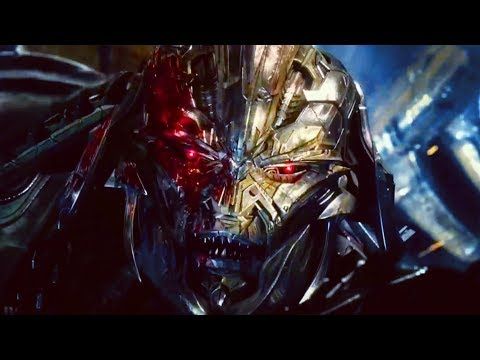 Transformers: The Last Knight - Optimus Prime vs. Megatron & Quintessa | Final Battle 1080p