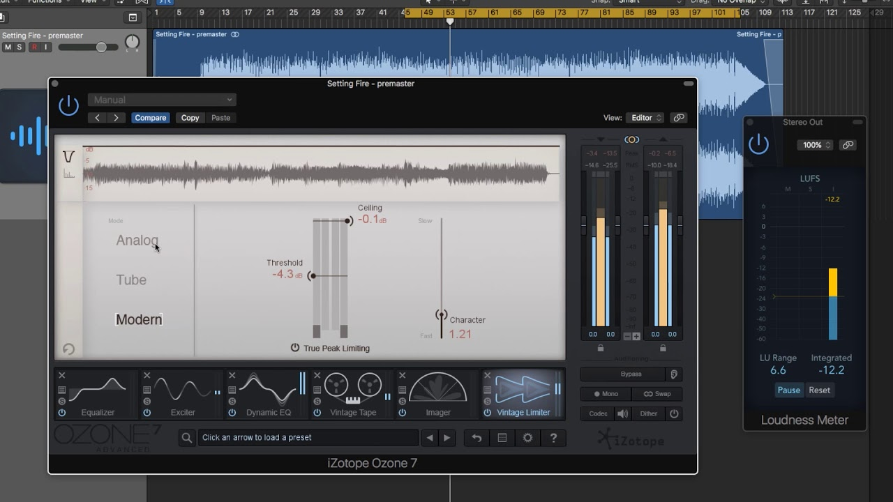 Izotope ozone 6 help | equalization (audio) | sampling (signal.