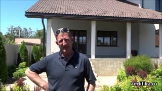 Кирпичный дом под ключ, отделка фасада «короедом» от Aedifika