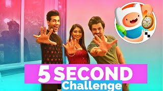 5 Second Challenge | Rimorav Vlogs