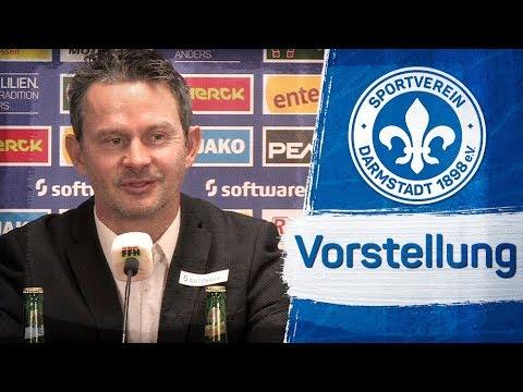 Darmstadt 98   Pressekonferenz zur Vorstellung von Dirk Schuster
