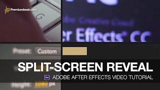 Adobe After Effects Video Tutorial: Split-Screen Reveal