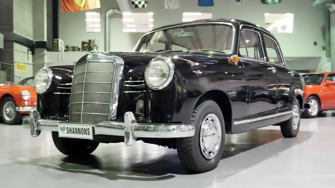 1958 Mercedes-Benz 190 'Ponton' Saloon - 2020 Shannons Winter Timed Online Auction