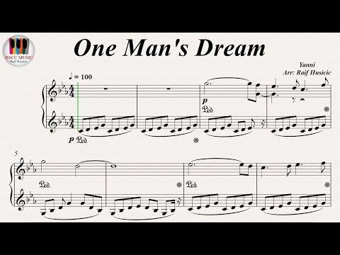 One Man's Dream - Yanni, Piano