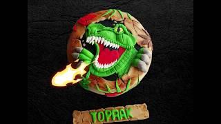 Dinozor Temalı Şeker Hamurlu Pasta  ( Dinosaur Themed Sugar Cake Pastry )