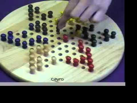 Cayro The Games Como Jugar A Las Damas Chinas Youtube