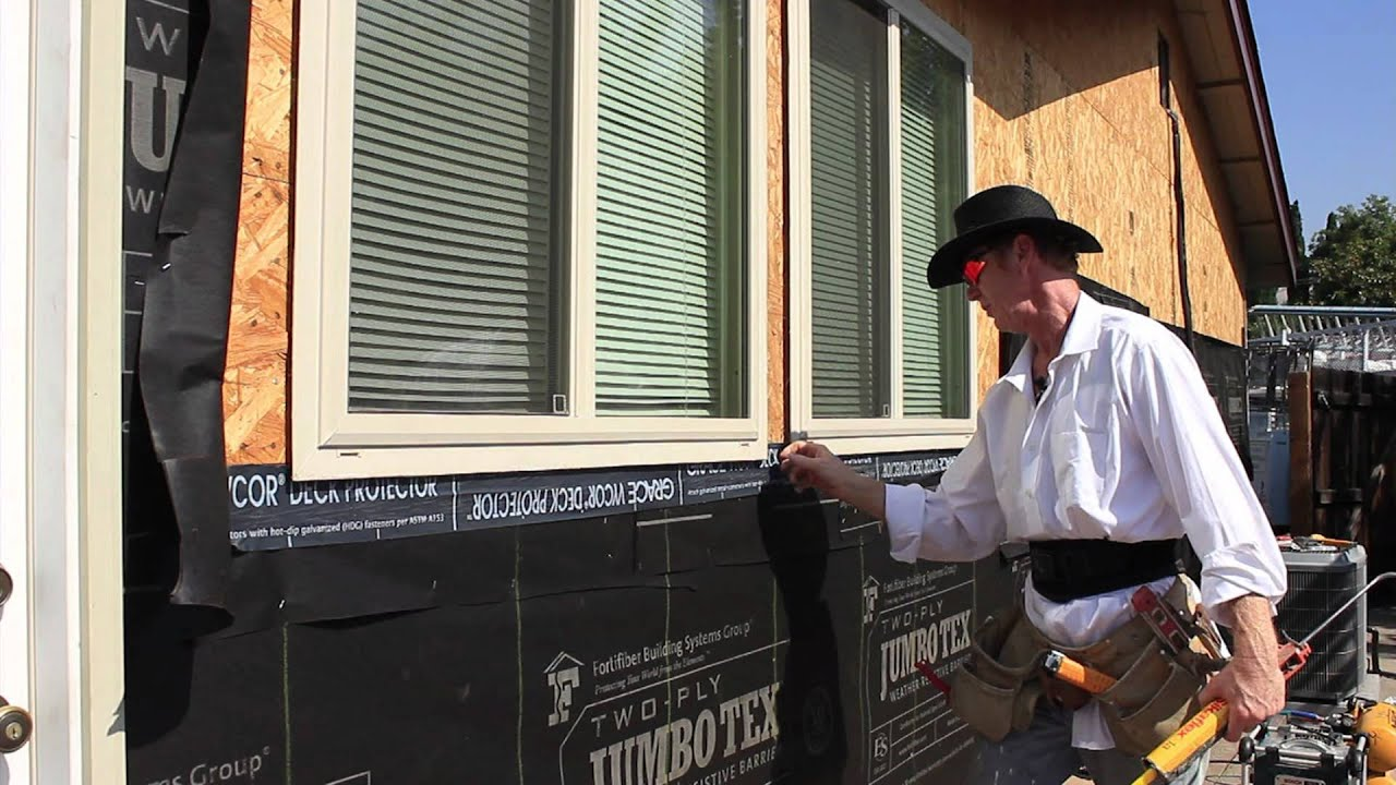 Waterproofing Insert Or Retrofit Windows In A Stucco