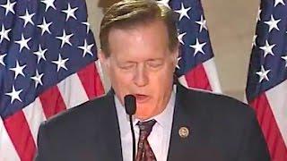 Seemingly Drunk Politician Cries & Rambles To God