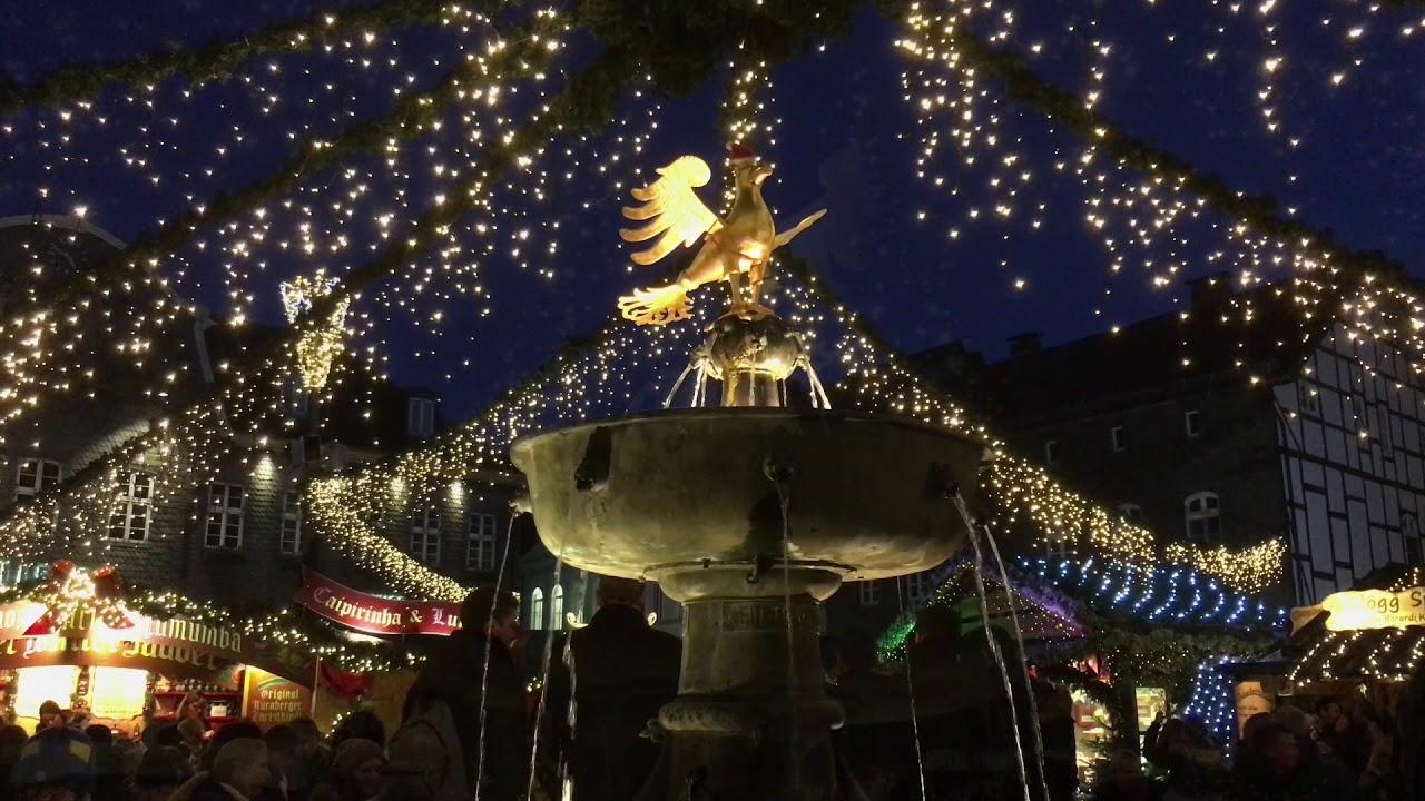 Goslar Weihnachtsmarkt.Weihnachtsmarkt Goslar 2017