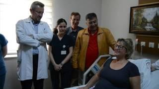 Alman İnge Rott ameliyat için Turgutlu'yu tercih etti
