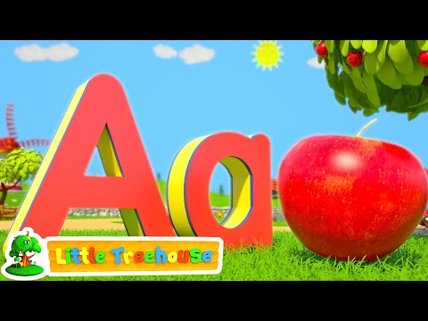 ABC Phonics Numbers Shapes & Colors  Nursery Rhymes Songs for Kindergarten Kids  Little Treehouse