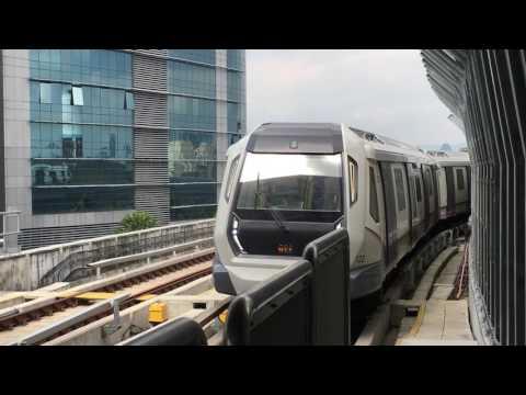 [MRT Corp] Sungai Buloh-Kajang line Siemens Inspiro arriving Semantan