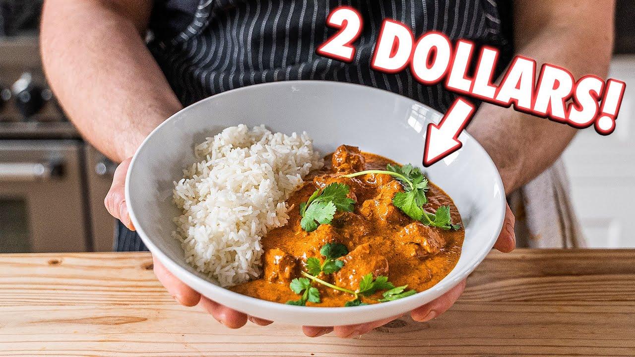 2 Dollar Curry (Butter Chicken) But Cheaper