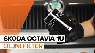 Nasveti za zamenjavo Oljni filter SKODA