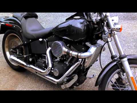 Super-charged Harley 88 cubic inch