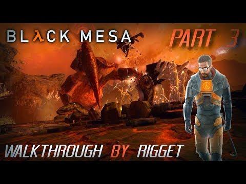 """Black Mesa мир XEN Прохождение Часть 3 """"Логово Гонарча"""""""