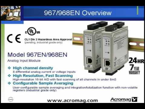 Acromag Ethernet I/O