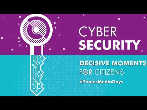 Thales Media Days - Cybersecurity Plenary with Guillaume Poupard & Marc Darmon