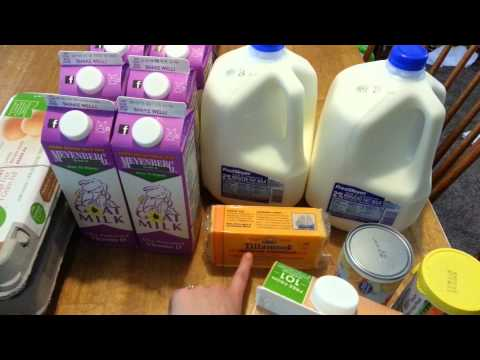 WIC Grocery Haul - May 13th, 2014