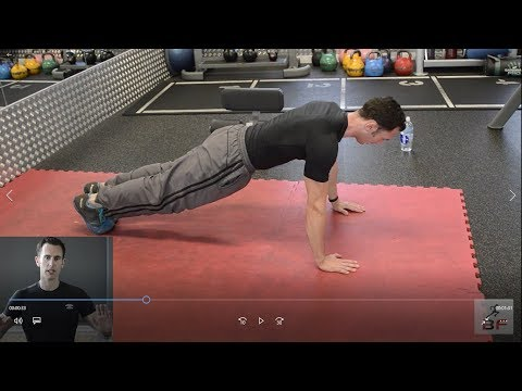 Press up progression & technique