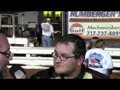 Williams Grove Speedway 358 Sprint Car Victory Lane 8-07-15