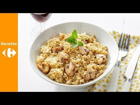 risotto-de-quinoa-et-boulgour-aux-champignons