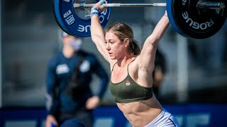 Event 7 - Snatch Speed Triple - 2020 CrossFit Games