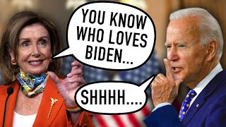 Pelosi TORPEDOS Biden With This SLIP