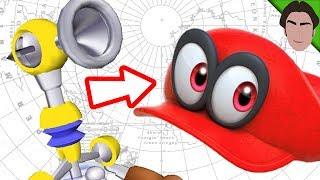 Cappy is FLUDD in Super Mario Odyssey