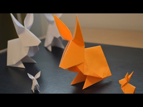 How to Make a Paper Rabbit 🐇