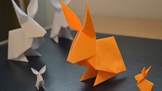 Origami: How to Make a Paper Rabbit