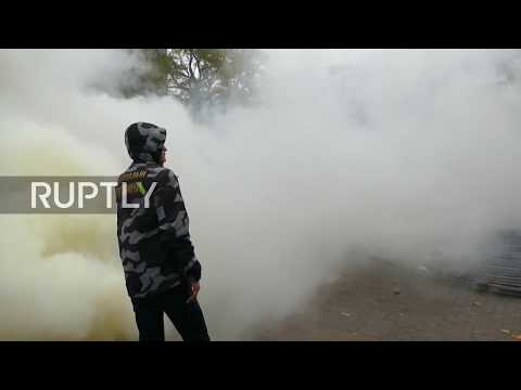 Ukraine: At least 6 officers injured during violent protest in Odessa