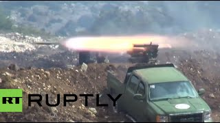 Syria frontline video: Army retakes last militant stronghold in Latakia province