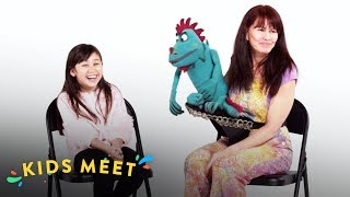 Kids Meet A Ventriloquist (Crystal) | Kids Meet | HiHo Kids