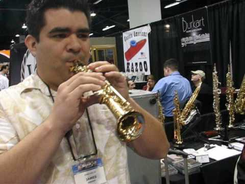 Soprillo Saxophone at NAMM