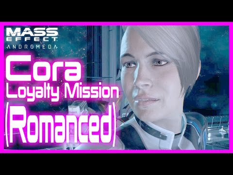 Mass Effect Andromeda, Romanced Cora Loyalty mission (Finding The Asari Ark )